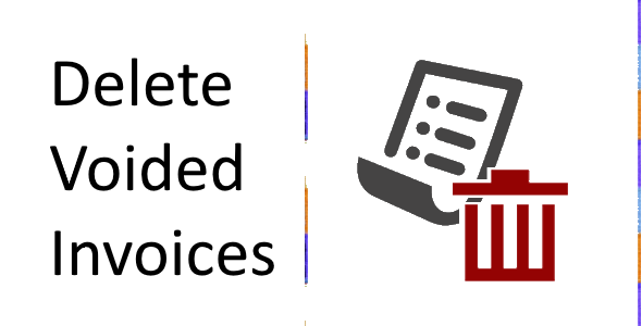 Delete Voided Invoices
